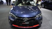 Toyota Camry ESport front elevated view at 2017 Bangkok International Motor Show