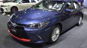 Toyota Camry ESport front three quarters at 2017 Bangkok International Motor Show