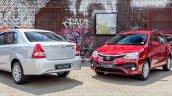 Toyota Etios Sprint Sedan and Toyota Etios Sprint Hatchback