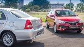 Toyota Etios Sprint exterior