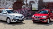 Toyota Etios Sprint front three quarters