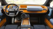 Toyota FT-4X Concept dashboard
