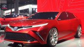 Toyota Fengchao Fun concept front three quarters at Auto Shanghao 2017