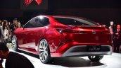 Toyota Fengchao Fun concept rear three quarters at Auto Shanghai 2017