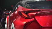 Toyota Fengchao Way concept tail lights at Auto Shanghai 2017