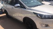 Toyota Innova Crysta Touring Sport side spied at dealership