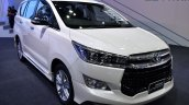 Toyota Innova Crysta at 2017 Bangkok International Motor Show front three quarters
