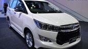 Toyota Innova Crysta at 2017 Bangkok International Motor Show front three quarters