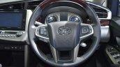 Toyota Innova Crysta at 2017 Bangkok International Motor Show steering wheel