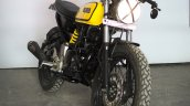 Yamaha FZ cafe racer by Gear Gear Motorcycle front three quarter right