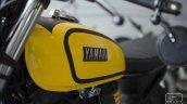 Yamaha FZ cafe racer by Gear Gear Motorcycle fuel tank