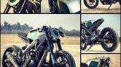 Yamaha R15 Tony 535 by Inline3 Cutom Motorcycles angles