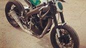 Yamaha R15 Tony 535 by Inline3 Cutom Motorcycles front three quarter