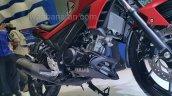 Yamaha V-Ixion R engine and radiator