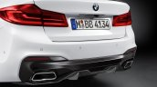 2017 BMW 5 Series BMW M Performance rear diffuser