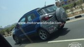 2017 Ford EcoSport (facelift) side spied in India for the first time