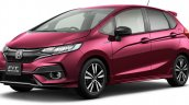 2017 Honda Jazz (facelift) front three quarters