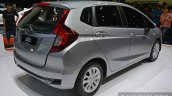 2017 Honda Jazz hybrid rear three quarters
