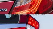 2017 Honda Jazz vs. 2013 Honda Jazz tail lamp