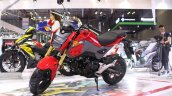 2017 Honda MSX125 at 2017 Vietnam Motorcycle Show front three quarter