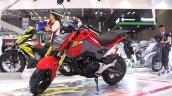 2017 Honda MSX125 at 2017 Vietnam Motorcycle Show front three quarter