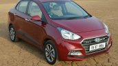 2017 Hyundai Xcent 1.2 Diesel (facelift) front quarter review