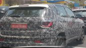 2017 Jeep Compass rear three quarters right side spy shot India