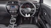 2017 Kia Soul (facelift) dashboard driver side