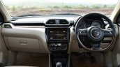 2017 Maruti Dzire dashboard First Drive Review