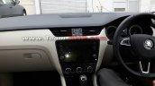 2017 Skoda Octavia (facelift) dashboard spy shot