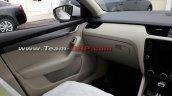 2017 Skoda Octavia (facelift) interior spy shot