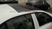 2017 Skoda Octavia (facelift) sunroof exterior spy shot
