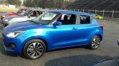 2017 Suzuki Swift blue front three quarters