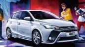 2017 Toyota Yaris L front three quarters