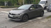 2017 VW Polo front three quarters undisguised spy shot