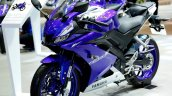 2017 Yamaha R15 v3.0 at Vietnam Motorcycle Show front three quarter
