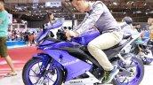 2017 Yamaha R15 v3.0 at Vietnam Motorcycle Show side