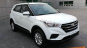 2018 Hyundai Creta (2018 Hyundai ix25) front three quarters spy shot
