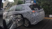 ASEAN-spec Toyota Yaris (facelift) rear three quarter spotted testing
