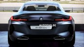BMW 8 Series concept rear leaked image