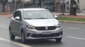 Fiat Argo front three quarters right side undisguised spy shot