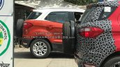 Ford EcoSport dual-tone right side spy shot