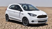 Ford Figo Sports Edition (Ford Figo S) front three quarters at Rann of Kachchh