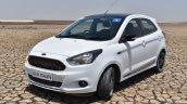 Ford Figo Sports Edition (Ford Figo S) front three quarters elevated view review