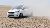 Ford Figo Sports Edition (Ford Figo S) front three quarters in motion