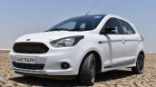 Ford Figo Sports Edition (Ford Figo S) front three quarters left side review
