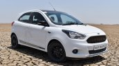 Ford Figo Sports Edition (Ford Figo S) front three quarters revew
