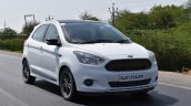 Ford Figo Sports Edition (Ford Figo S) front three quarters right side in motion