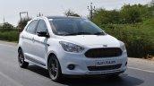 Ford Figo Sports Edition (Ford Figo S) front three quarters right side in motion