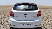 Ford Figo Sports Edition (Ford Figo S) rear at Rann of Kachchh